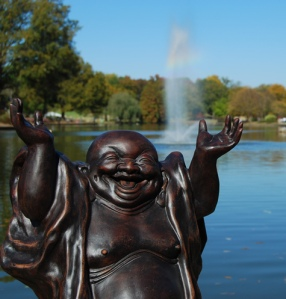 Gratuitous use of laughing Buddha. Whatever's happening in your life, he made you smile didn't he? Photo credit:  MichaelKuhn_pics / Foter / CC BY-NC-SA